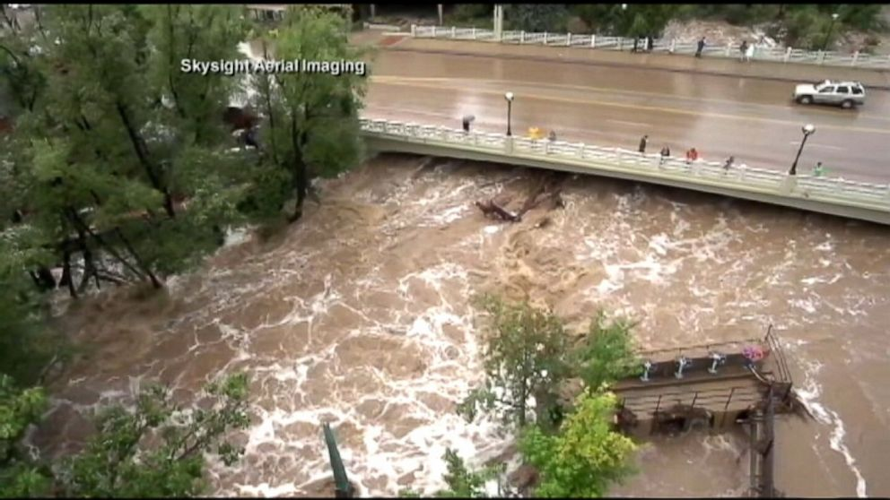 More Rain Expected As Helicopters Search For Stranded