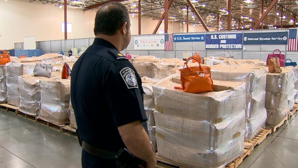 LAPD, US Customs Battle Counterfeit Goods Market, Multi