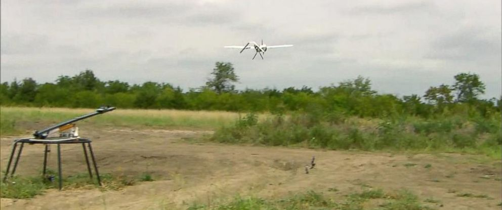 PHOTO: Search crews in Texas are using drones in the search for a missing 23-year-old woman, Christina Morris.
