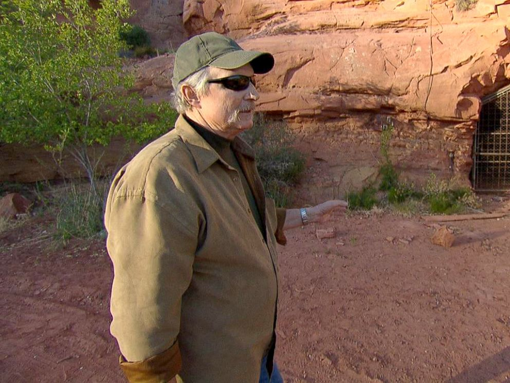 PHOTO: Sam Brower, author of, Prophets Prey, stands near the FLDS bunker-like network of tunnels.