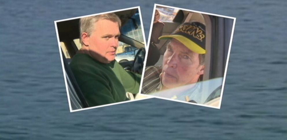PHOTO: George Reynolds and Fred Schaeffer were enjoying some leisure time in in Salem Sound outside of Boston when somehow the boat capsized.