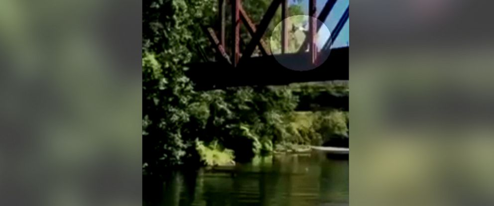 PHOTO: A mother in Washington State was cited for reckless endangerment after police said she watched an acquaintance throw her 4-year-old son off a bridge.