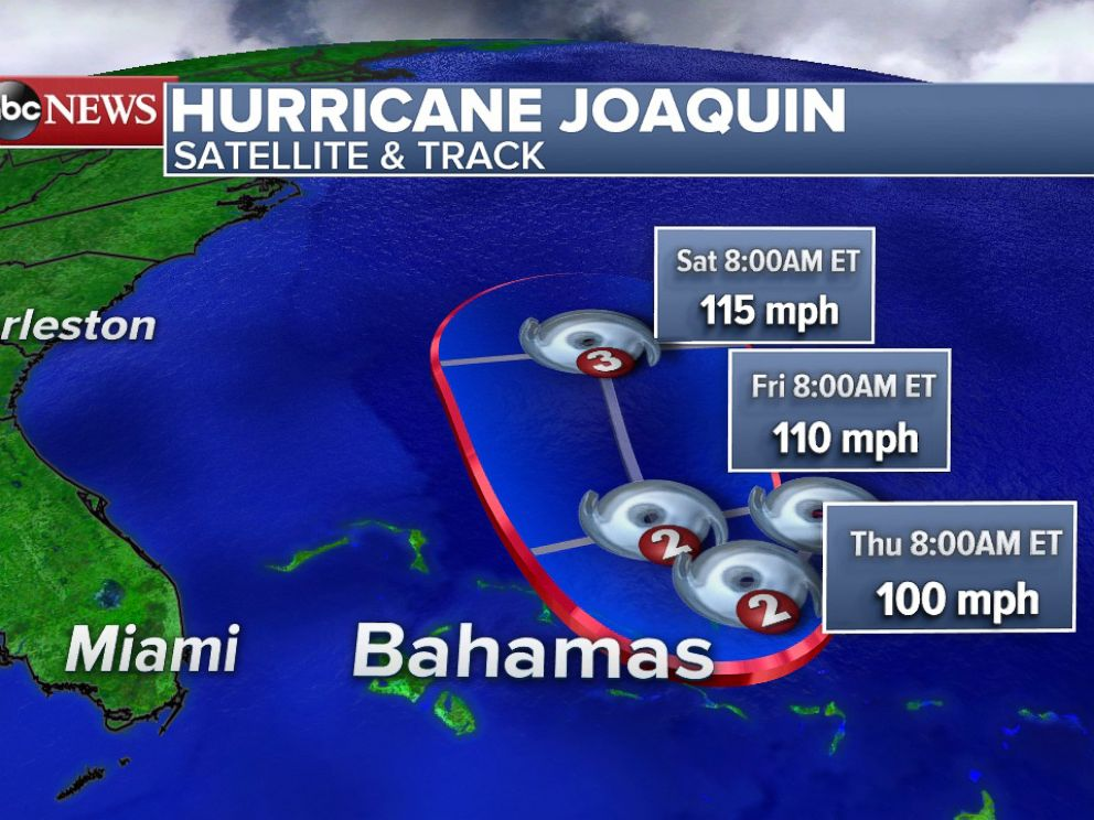 PHOTO: Over the next 48 hours The Bahamas will be affected by hurricane conditions from Joaquim.