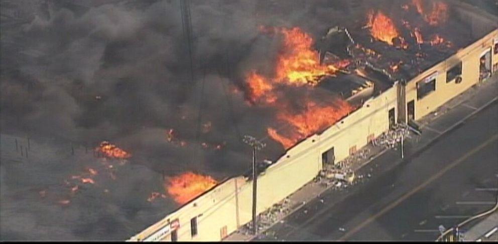 PHOTO: New Jersey beachfront in Seaside Heights is devastated by destructive blaze