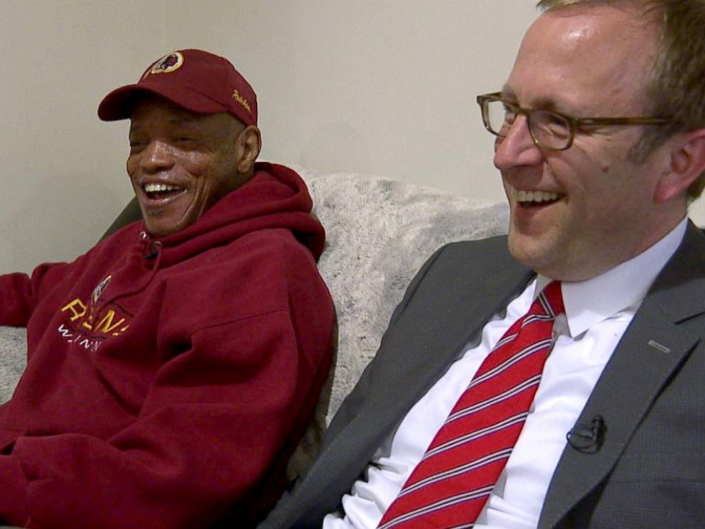 PHOTO: ABC News Jonathan Karl checks in on former homeless veteran Tony Jones, three months after moving into his new apartment.