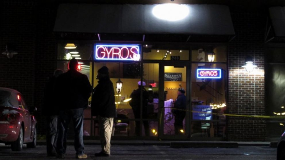 A man attacked several people with a machete in a restaurant in Northeast Columbus, Ohio on Feb. 11, 2016.