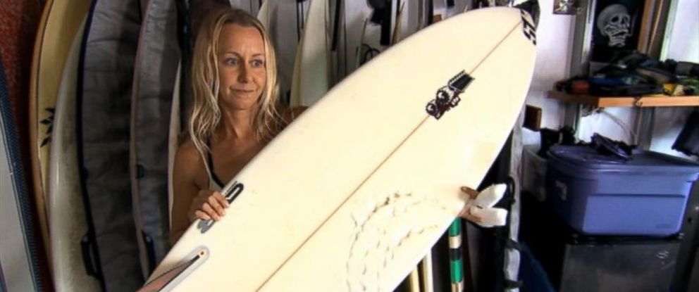 PHOTO: McKenzie Clark was bitten by a shark Oct. 31, 2014, while surfing off the coast of Hawaii.