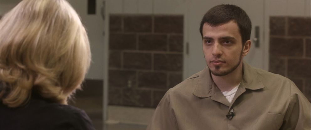 PHOTO: Muhammad Dakhlalla, the 24-year-old former honor student in prison for trying to join ISIS in 2015 with girlfriend Jaelyn Young, spoke first to ABC News Diane Sawyer.