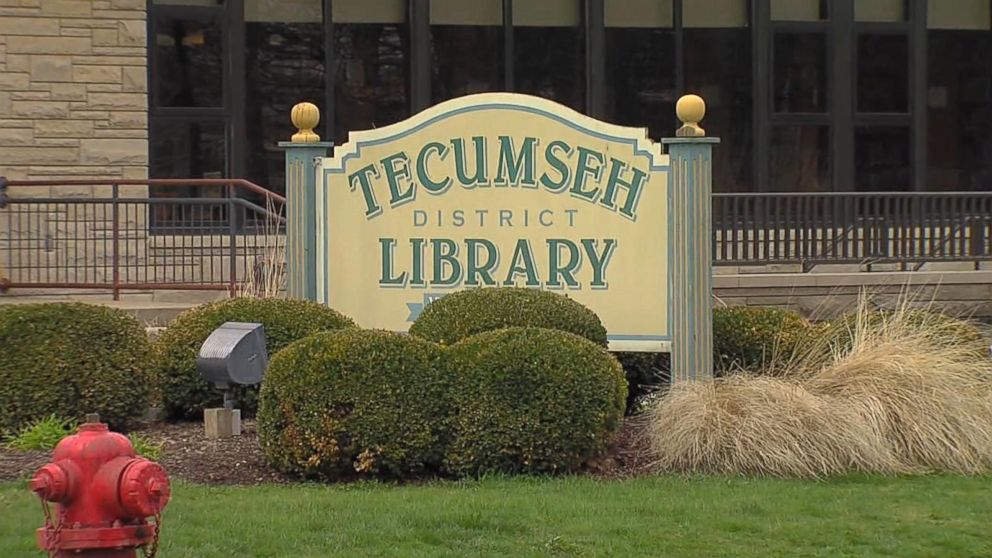 Catherine Duren and Melvin Duren each had books overdue from the Tecumseh District Library. They were charged $55 with replacement and late fees.