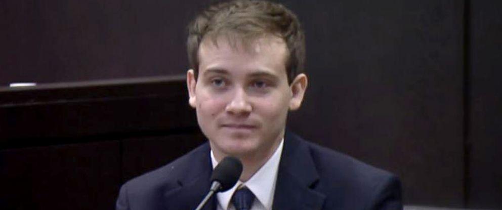 PHOTO: Pedro Bravo, 20, testifies in court. Bravo is accused of killing University of Florida student Christian Aguilar.