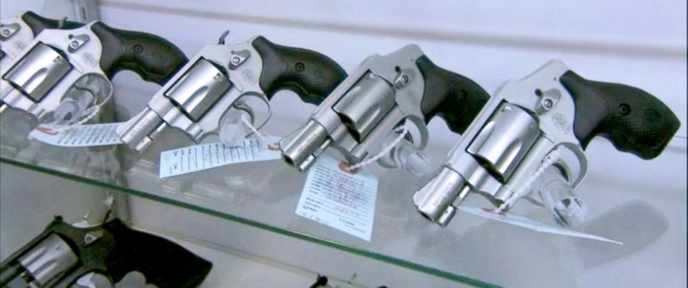 PHOTO: Metro Shooting Supplies which has experienced a roughly 300 percent jump in gun sales in recent weeks.
