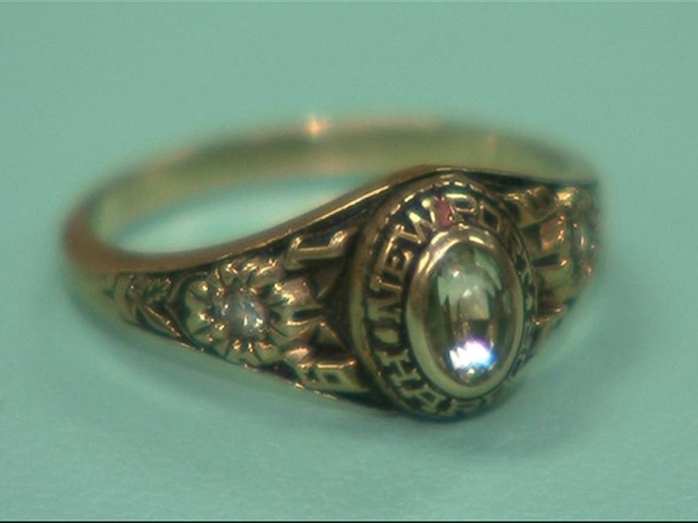 PHOTO: Merrilea East got her Newport Harbor High School class ring back, pictured here, almost 30 years after losing it.