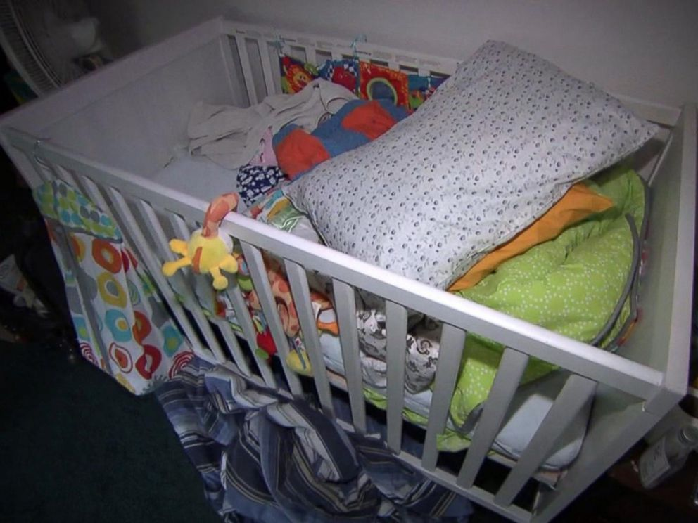 PHOTO: A crib was found in the house belonging to Tashfeen Malik and Syed Farook.