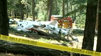PHOTO: Tahoe Plane Crash