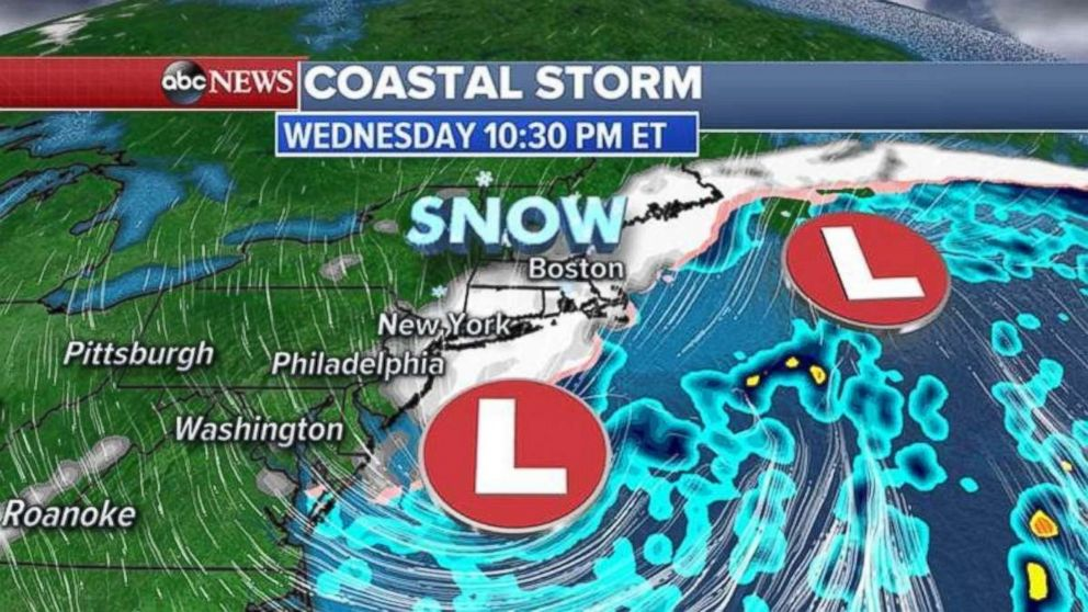 Foot of snow now possible as Wednesday storm forecast intensifies
