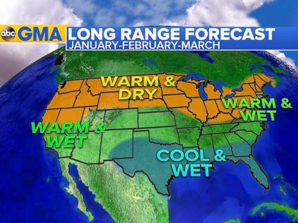 po here is the latest forecast for january february and march a typical