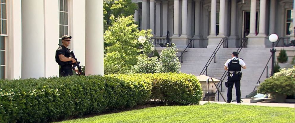Wonderful PHOTO: The White House Is Seen Here After Reports Of A Nearby Shooting, May