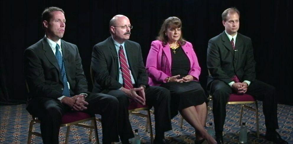PHOTO: Angela Corey, Bernie de la Rionda, John Guy, and Rich Mantei George Zimmerman