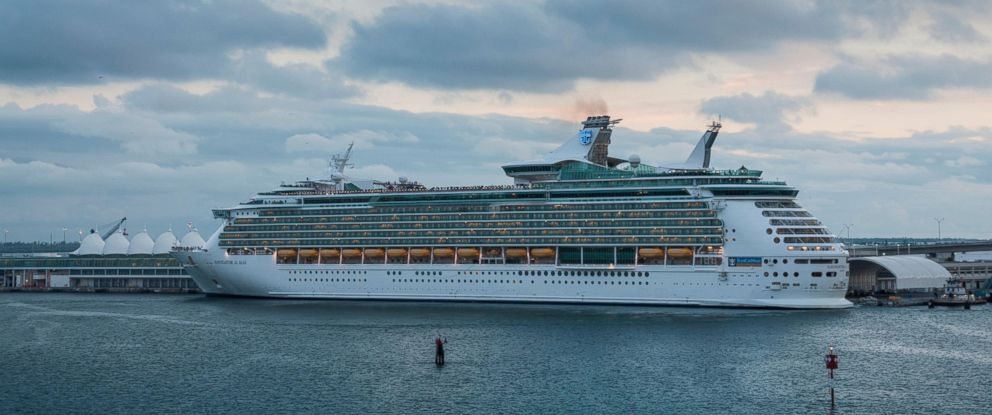 PHOTO: Royal Carribean's Navigator of the Seas in seen in Miami, Fla. in this undated stock photo.