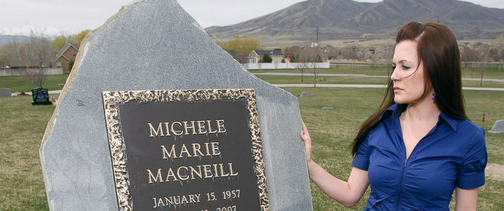 PHOTO: Alexis MacNeill visits her mother Michelles grave site in Highland, Utah, in this April 16, 2011 file photo.