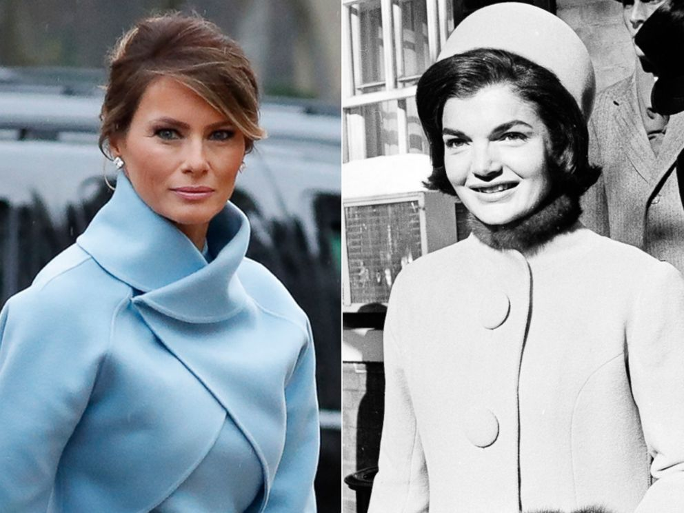 Melania Trump Channels Jacqueline Kennedy Onassis in