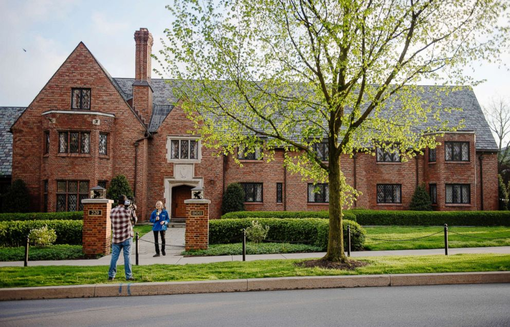 PHOTO:The exterior of the Penn State University Beta Theta Pi fraternity house is pictured on May 5, 2017, in State College, Pa.