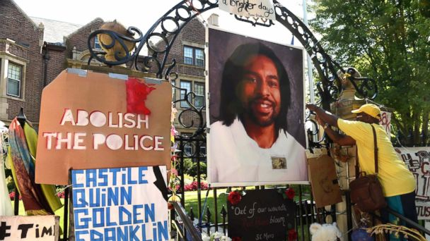 Minnesota Police Officer Charged With 2nd-Degree Manslaughter in Philando Castile's Death