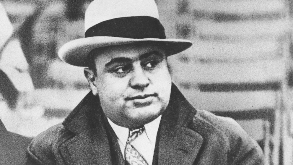 Chicago mobster Al Capone is seen at a football game in Chicago in this Jan. 19, 1931 file photograph.