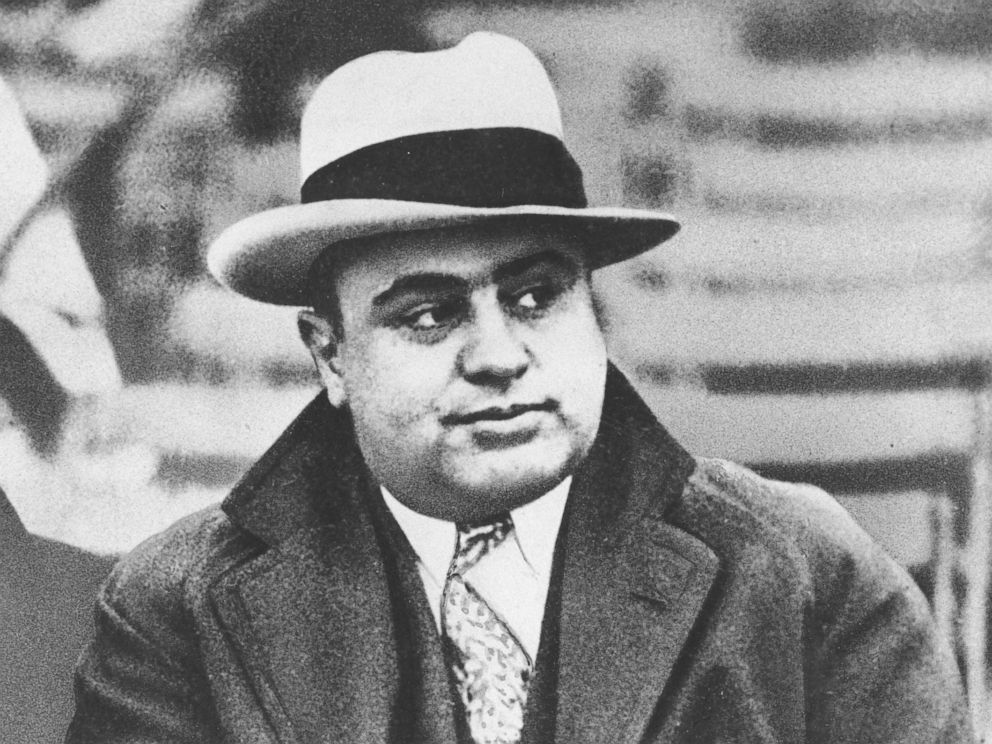 PHOTO: Chicago mobster Al Capone is seen at a football game in Chicago in this Jan. 19, 1931 file photograph.