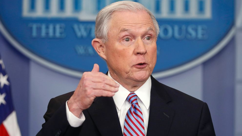 Attorney General Jeff Sessions stands by his controversial