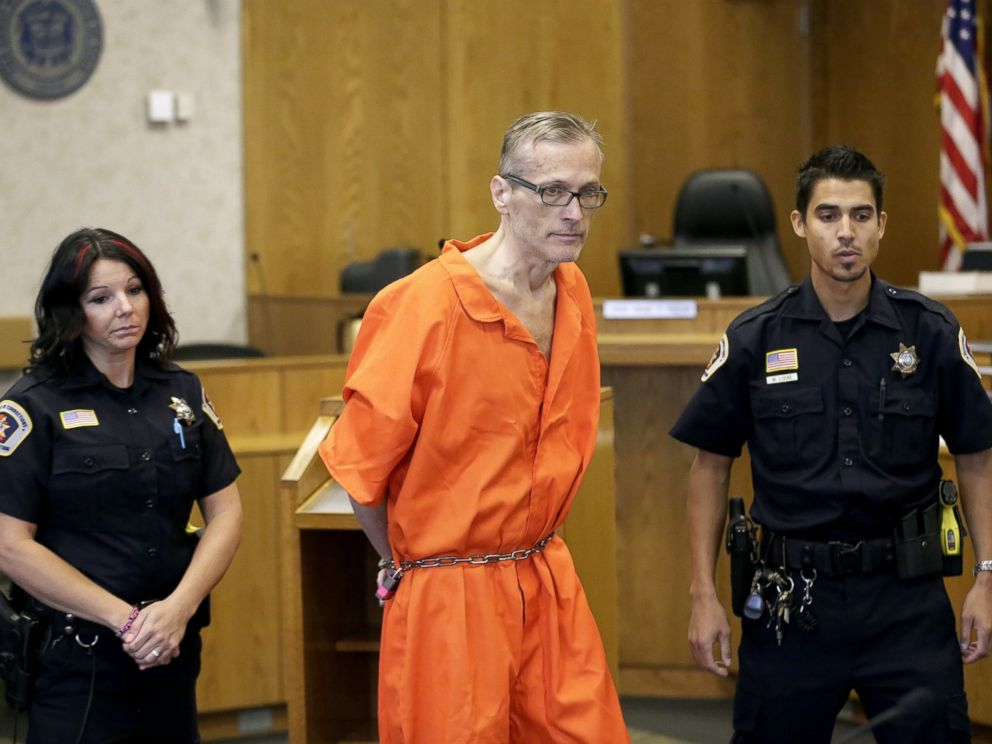 PHOTO: Martin Joseph MacNeill enters the courtroom before his sentencing, in Provo, Utah, Sept. 19, 2014.