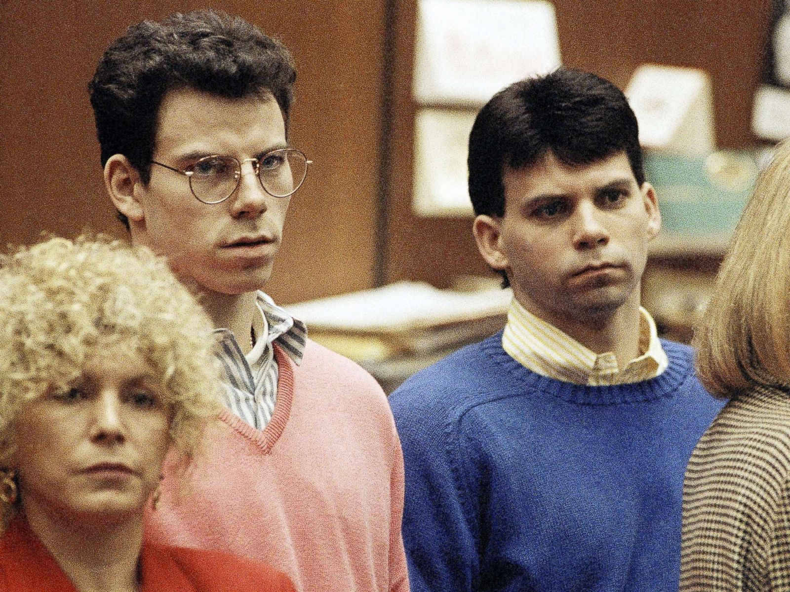 Menendez brothers burst into tears during emotional prison reunion