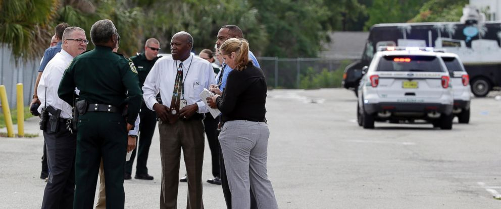 """PHOTO: Law enforcement authorities said there were """"multiple fatalities"""" following a morning shooting in an industrial area near Orlando, Fla., June 5, 2017."""