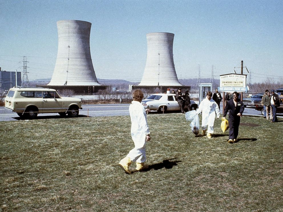 PHOTO: An undated photo of the Three Mile Island nuclear power station near Harrisburg, Pa., circa 1979.