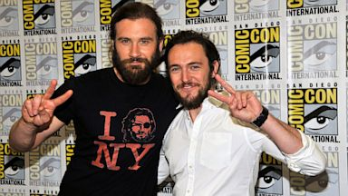 """PHOTO: Clive Standen and George Blagend attend """"Vikings"""" panes at Comic-Con"""