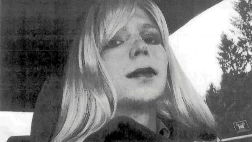 In this undated file photo provided by the U.S. Army, Chelsea Manning poses for a photo.