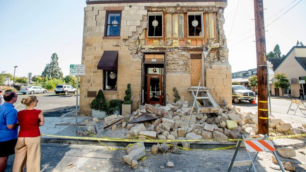 damage from northern california earthquake could reach 1 billion abc news