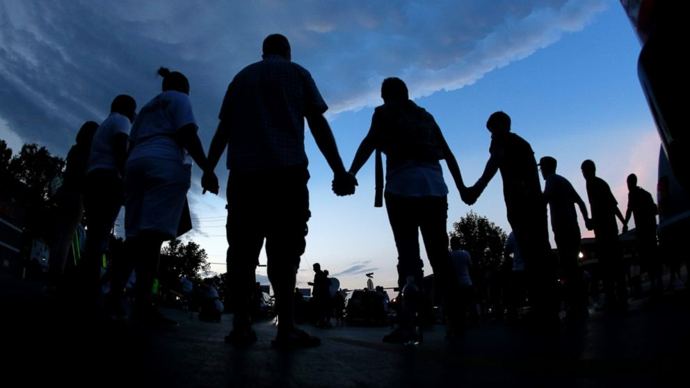 A Very Good Night' in Ferguson as Peace Preserved - ABC News
