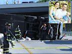 PHOTO: Wreckage of bus crash in Indianapolis