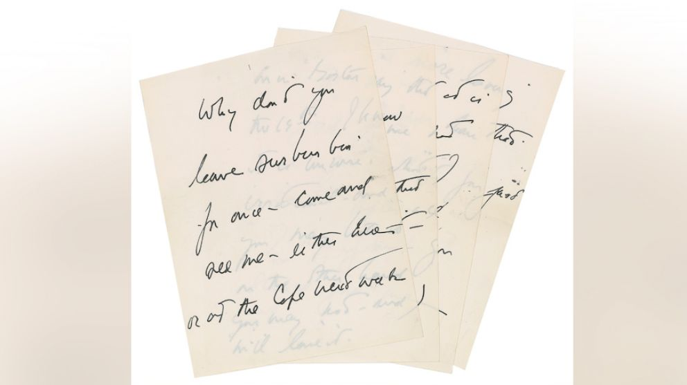 JFK's Love Letter to A...U Letter Love