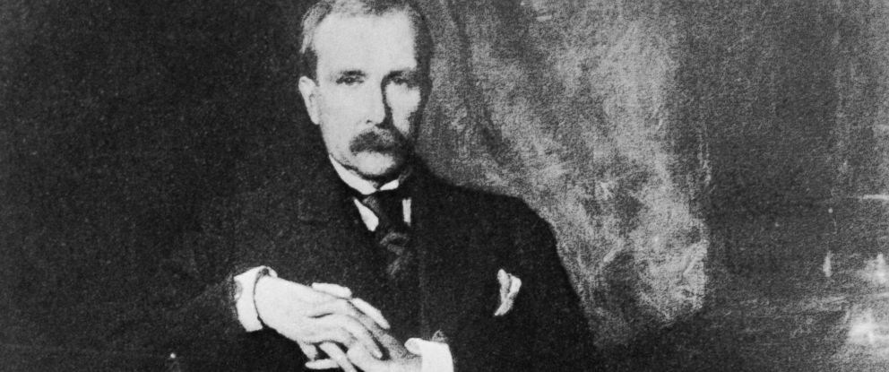PHOTO: A photograph of John D. Rockefeller Sr. taken in the early 1890s.