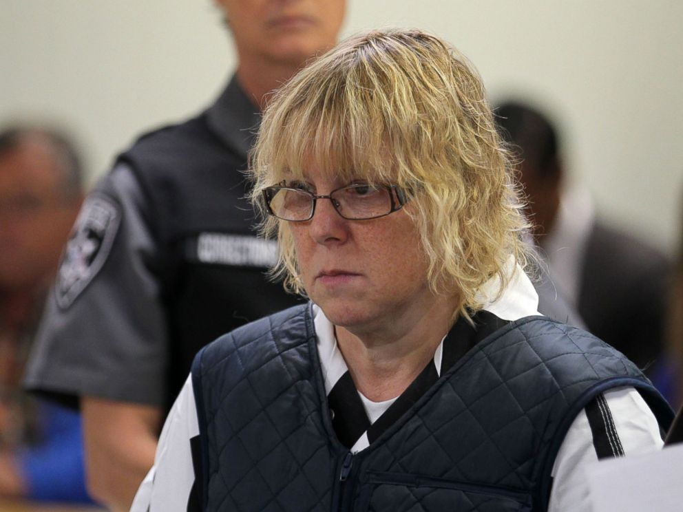 PHOTO: Joyce Mitchell appears before Judge Mark Rogers in City Court in this June 15, 2015 file photo in Plattsburgh, N.Y.