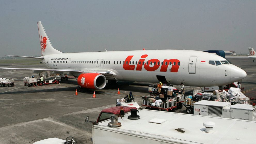 Indonesia. Indonesia's Lion Air said Monday, Oct. 29, 2018, it has lost contact with a passenger jet flying from Jakarta to an island off Sumatra.