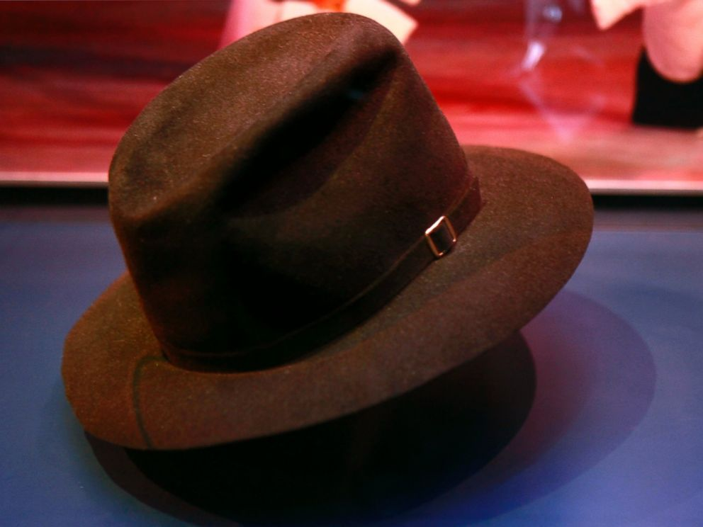 PHOTO: Michael Jacksons fedora is one of the items on display in a new exhibit about how the Apollo Theater shaped American entertainment, at the National Museum of American History in Washington, on April 20, 2010.