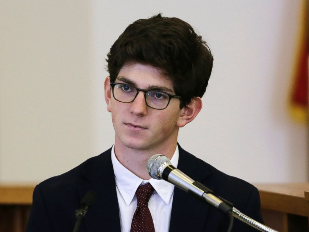 PHOTO:In this Aug. 26, 2015, file photo, former St. Pauls School student Owen Labrie testifies in his trial at Merrimack Superior Court in Concord, N.H.