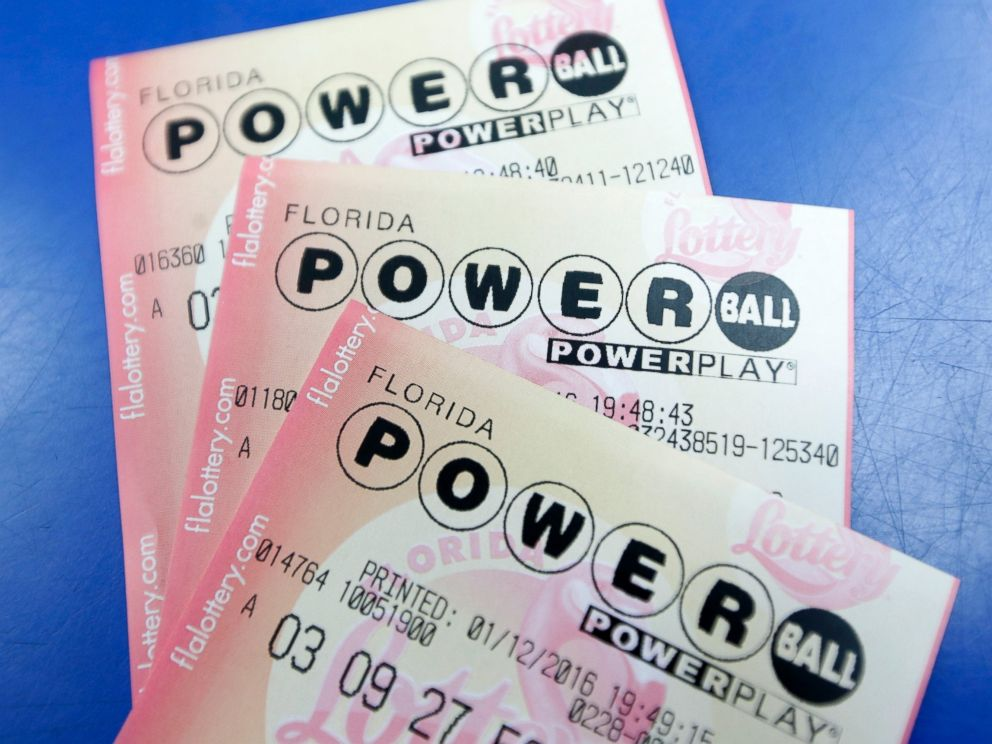 PHOTO:Purchased Powerball lottery tickets are shown, Jan. 12, 2016, in Miami.