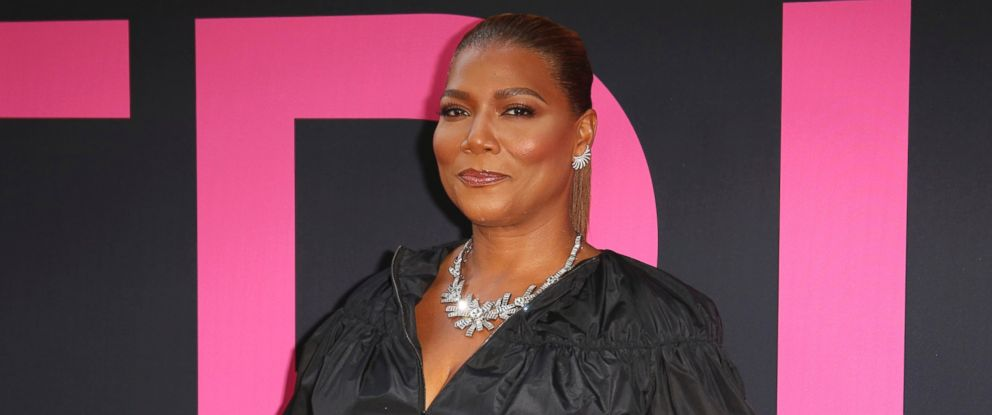 "PHOTO: In this Thursday, July 13, 2017, file photo, Queen Latifah arrives at the World Premiere of ""Girls Trip"" at the Regal L.A. Live in Los Angeles."