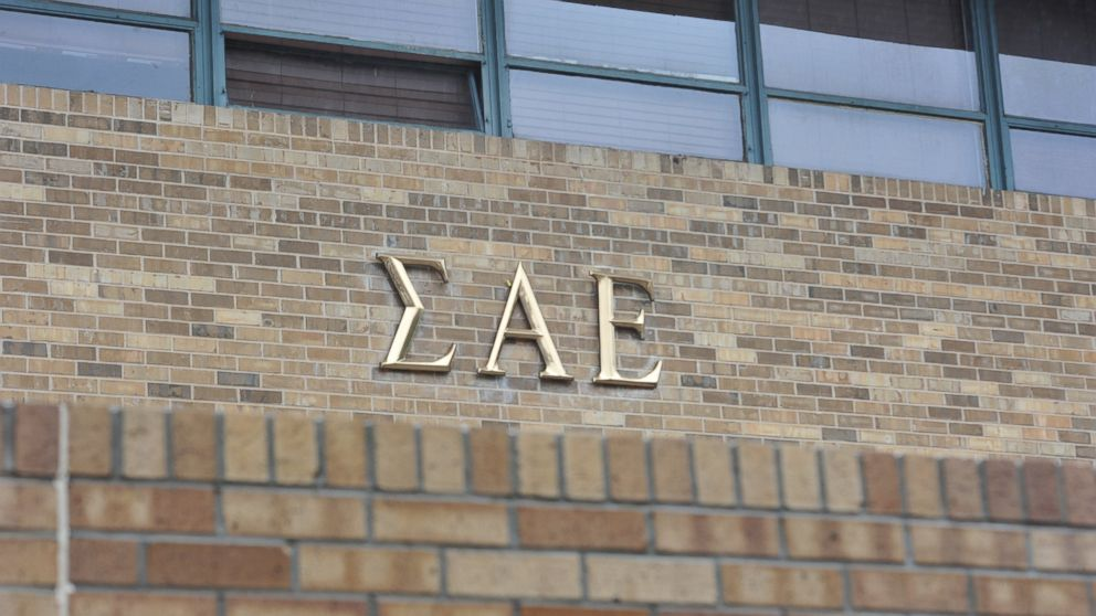 The Sigma Alpha Epsilon house at the University of Oklahoma, March. 9, 2015, in Norman, Okla.
