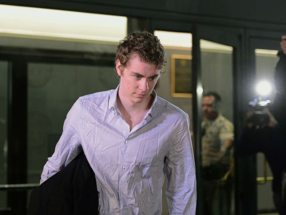 PHOTO: Brock Turner, 21, is released from jail in Santa Clara County, California, Sept. 2, 2016.
