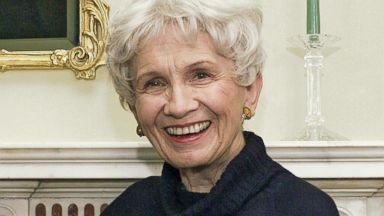 PHOTO: Canadian author Alice Munro